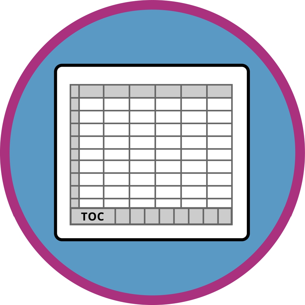 Crosstab Icon