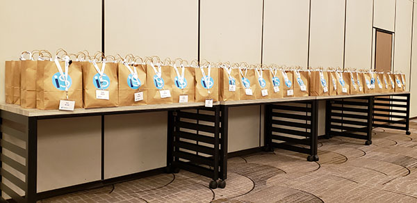 Goodie Bags for IntelliSurvey employees
