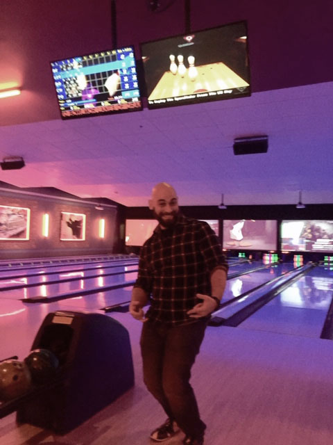 IntelliSurvey's employee bowling