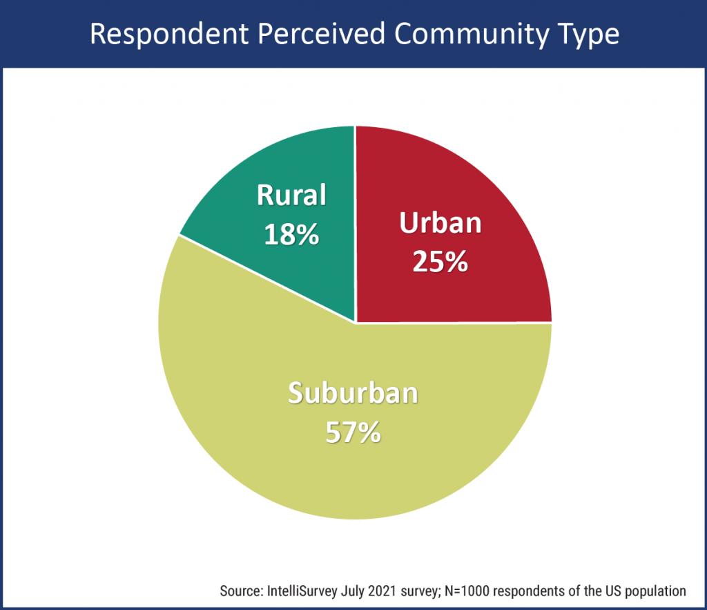 Community Type - Respondent Perception
